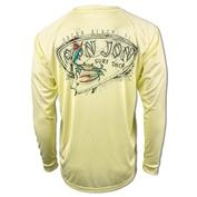 Ron Jon Surf Crab Sun Protection Long Sleeve Top