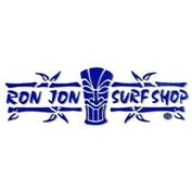 Ron Jon Tiki Strip Sticker