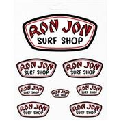 Ron Jon Badge Sticker Sheet
