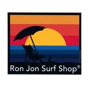 Ron Jon Beach Chair Sticker