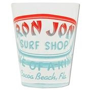 Ron Jon Neon Badge Shot Glass - Red/Blue