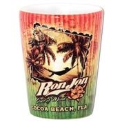 Ron Jon State Of Mind Shot Glass- Cocoa Beach