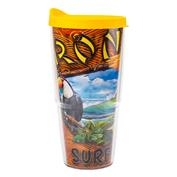 Ron Jon Birds of Prey Tumbler - Yellow