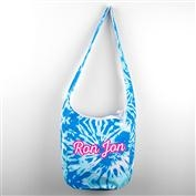 Ron Jon Tie Dye Sling Bag - Blue