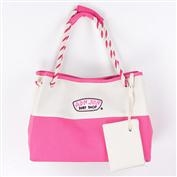 Ron Jon Natural Fuchsia Beach Tote