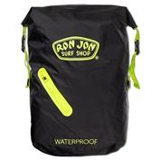 Ron Jon Waterproof Backpack - Black/Green