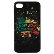 Ron Jon iPhone 4/4s Hard Snap Case - Rasta Splash