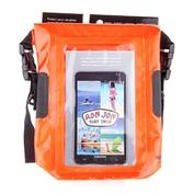 Ron Jon Orange Waterproof Phone Tote