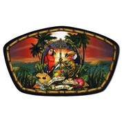 Ron Jon Same Sun Badge Mouse Pad