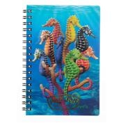 Ron Jon Seahorses 3D Notebook