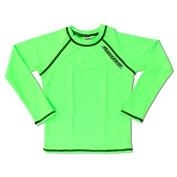 Ron Jon Boys Long Sleeve Rashguard - Neon Lime