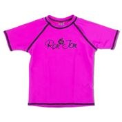 Ron Jon Girls Gypsy Purple Cap Sleeve Rash Guard