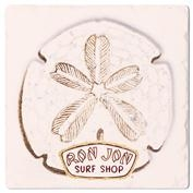 Ron Jon Sand Dollar Square Coaster