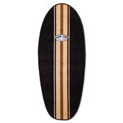 Ron Jon Washable Surfboard Rug - Black / Ivory