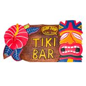 Ron Jon Hibiscus Tiki Bar Sign