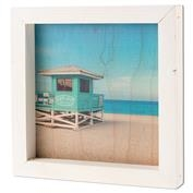 Ron Jon Lifeguard Box Sign - White