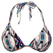 Ron Jon Tribal Play Push Up Tri Bikini Top