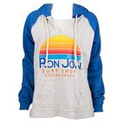 Ron Jon Junior Sunrise Color Block Pullover Hoodie