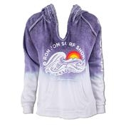 Ron Jon Junior Retro Ocean Wave Dip Dye Hoodie