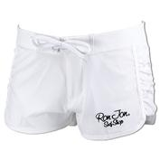 Ron Jon Junior White Stretch Boardshort
