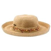 Ron Jon Ladies Bead It Hat - Tan