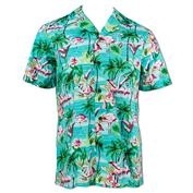Flamingos Button Up Hawaiian Shirt XXL