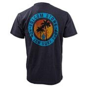 Ron Jon Volcom Collaboration Sundown Tee - Twilight Black