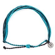 Pura Vida Bracelet - Black/Blues
