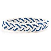 Blue White Sailors Knot Bracelet