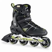Rollerblade Men's Macroblade 80 Alu - Black/Yellow