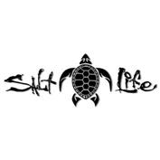 Salt Life Sea Turtle Medium Sticker - Black