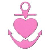 Inbloom Anchor and Heart Mini Sticker