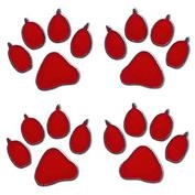Inbloom Paw Print Mini Sticker