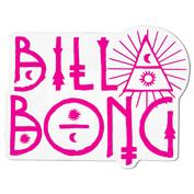 Billabong Name and Number Sticker