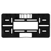 License Plate Mounting Plate - Black