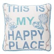This Is My Happy Place Pillow