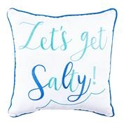 Let's Get Salty Pillow