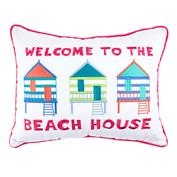 Welcome To The Beach House Pillow