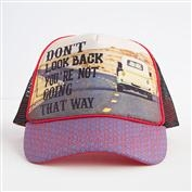 Natural Life Don't Look Back Trucker Hat
