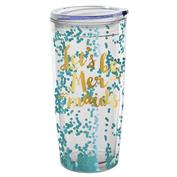 Let's Be Mermaids Travel Tumbler