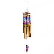 Hibiscus Bamboo Wind Chime