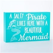 Mermaid Box Sign - Pirate