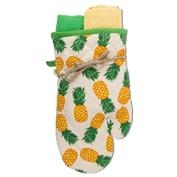 Pineapple Oven Mitt and Towel Set