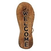 Welcome Flip Flop Sign