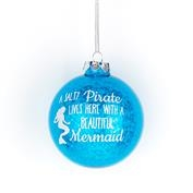 Glitter Mermaid Ornament - Salty Pirate