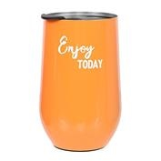Summer Sayings Stainless Steel Travel Mug - Enjoy Today