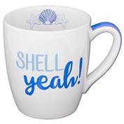 Beach Sayings Jumbo Mug - Shell Yeah