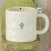 Natural Life Owl Little Friend Mug