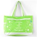 Ron Jon Beach Bubble Shoulder Tote - Lime