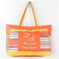 Ron Jon Sea Stripe Shoulder Tote - Orange